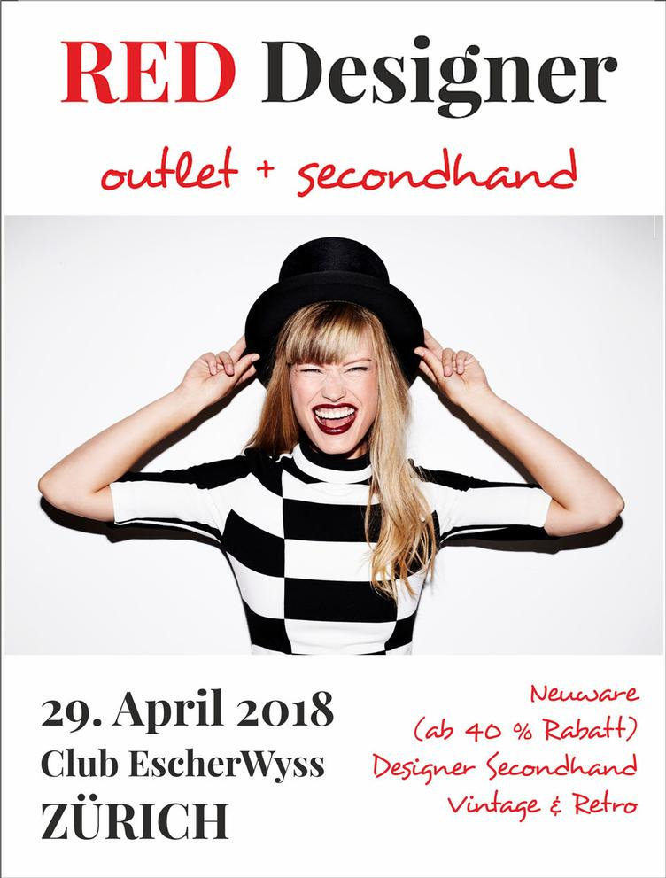 RED Designer outlet + secondhand MARKT